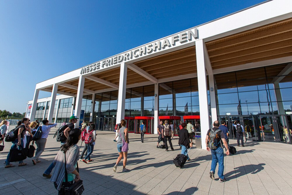Branchenmesse am Bodensee